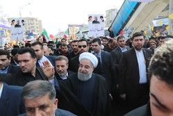 روحاني: مشاركة الشعب ردا على المؤامرات الأمريكية الجديدة والتحركات الصهيونية في المنطقة