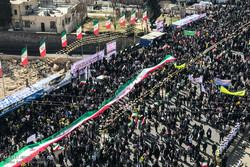 İran'daki 11 Şubat yürüyüşlerinden kareler