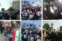 بوشهریها دوباره حماسه آفریدند/ حضور گسترده در راهپیمایی ۲۲ بهمن