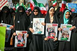 خروش مردم مومن ورامین رباط کریم و دماوند در راهپیمایی ۲۲ بهمن