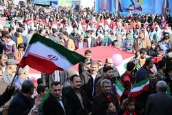 تجلی حضور در آوردگاه ۲۲ بهمن/ استان سمنان حماسه آفرید