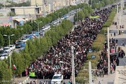 مسيرة 22 بهمن في مدينة ميناب