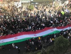راهپیمایی مردم شیراز