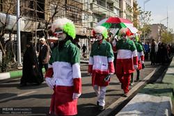مشاهد منتقاة من حضور الشعب الإيراني في احتفالات ذكرى انتصار الثورة الإسلامية / صور