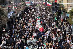 راهپیمایی یوم الله ۲۲ بهمن در قم