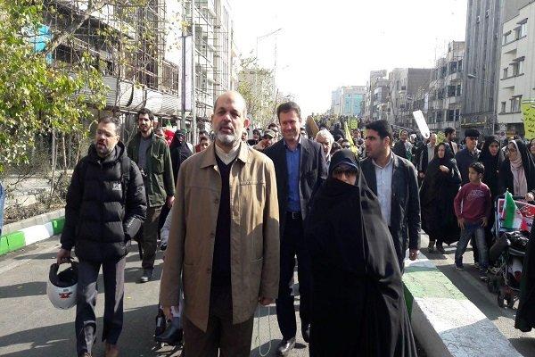 سردار وحیدی: حضور مردم رکن اساسی امنیت ملی کشور است
