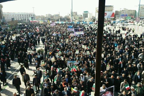 مسيرات 22 بهمن