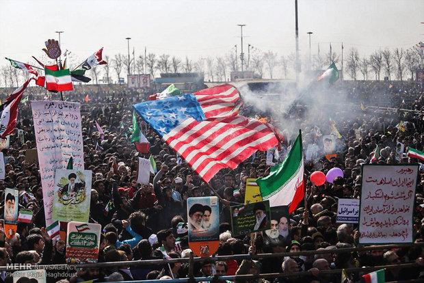 راهپیمایی تماشایی بیست و دوم بهمن