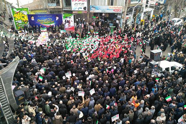 راهپیمایی 22 بهمن مشگین شهر