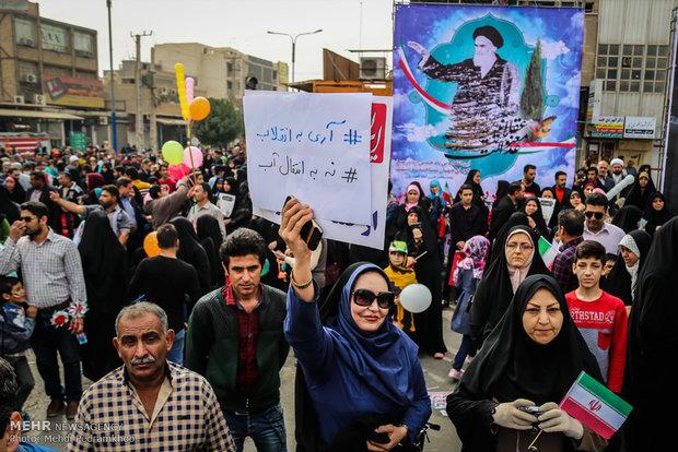 راهپیمایی یوم الله ۲۲ بهمن