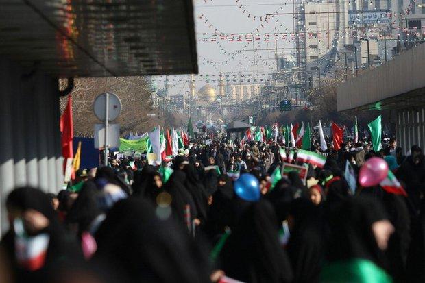Islamic Revolution anniv. marked across Iranian cities
