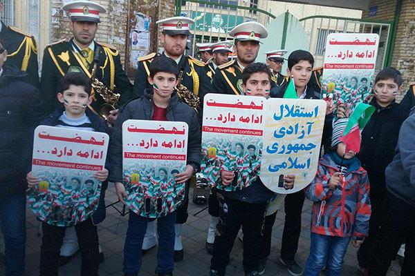 راهپیمایی 22 بهمن اردبیل