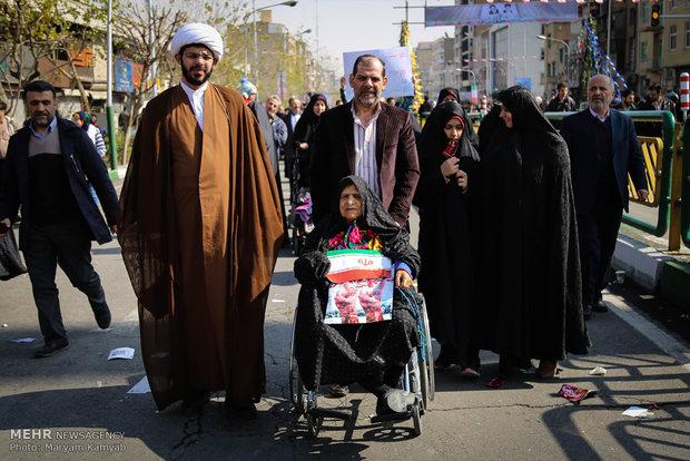 عکس تهران عکس 22 بهمن دختر تهرانی اخبار تهران