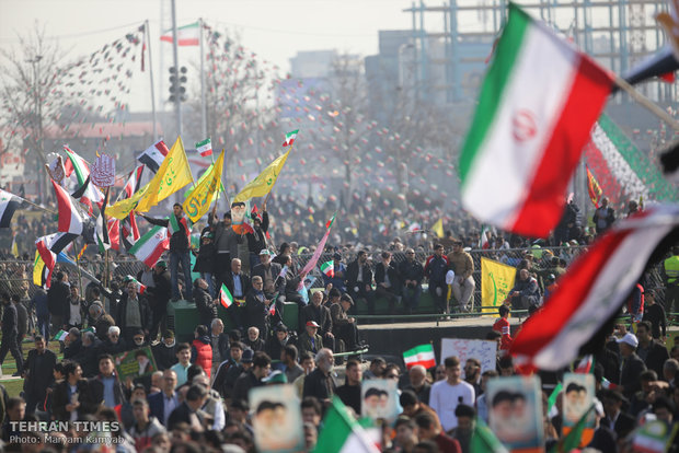 Iran marks Islamic Revolution anniversary