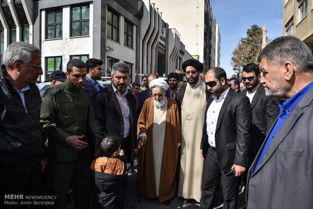 مشاركة المسؤولين الايرانيين في مسيرة 22 بهمن
