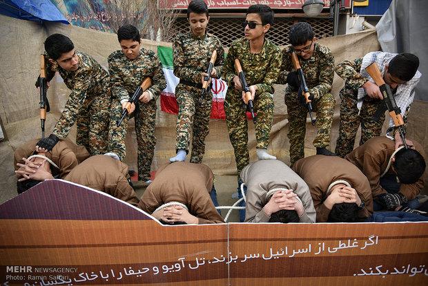 راهپیمایی یوم الله ۲۲ بهمن در مشهد