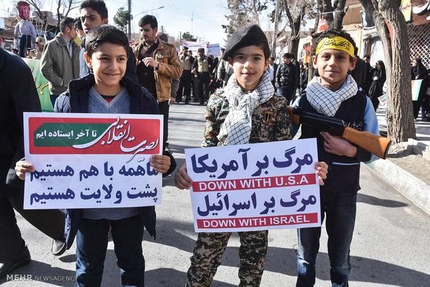 راهپیمایی یوم الله ۲۲ بهمن در شهرضا - محمد مهدی ملکی