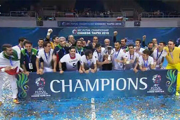 Iran's futsal remains Asia's top in latest rankings