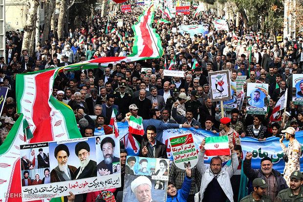 مسیرهای راهپیمایی ۲۲ بهمن در استان البرز اعلام شد