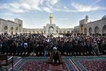 مشہد مقدس میں 2 ملین زائرین پہنچ گئے