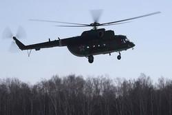 یک بالگرد روسیه در سیبری سقوط کرد/۲ خلبان کشته و ۴ نفر مجروح شدند