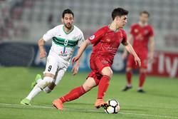 دیدار تیم فوتبال ذوب آهن و الدحیل قطر