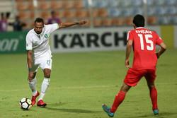 دیدار تیم های فوتبال تراکتورسازی و الاهلی عربستان