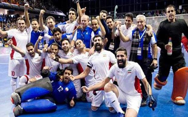 ايران تهزم استراليا وتحرز المركز الثالث بكأس العالم لهوكي الصالات