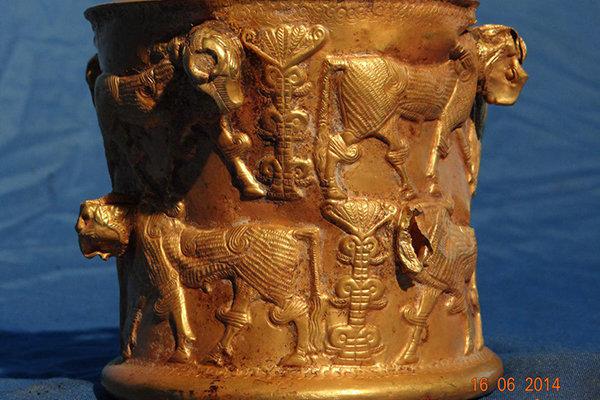 رگهتاریخ کهن در درخت زندگی جام طلایی/تمدن باستان روایت میشود