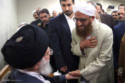 قائد الثورة الاسلامية يستقبل أعضاء مؤتمر شهداء سيستان وبلوشستان /صور