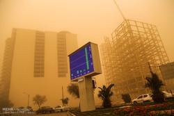 غلظت گرد و غبار در اهواز ۵۷ برابر حد مجاز