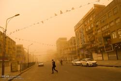 غلظت گرد و غبار هوای اهواز 12 برابر حد مجاز