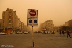 پیش بینی وقوع گرد و غبار محلی در برخی مناطق خوزستان