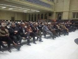 مراسم ترحیم والده «مرتضی مبلغ» در مسجد نور تهران برگزار شد