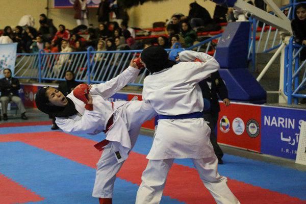 رقابتهای کاراته بانوان قهرمانی کشور در سنندج؛ مازندران قهرمان مسابقات کاراته جوانان انتخابی تیم ملی دختران شد