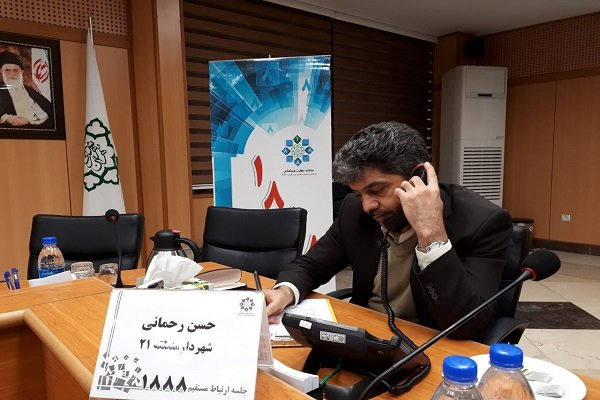 ارتباط مستقیم شهردار منطقه 21 با شهروندان ورودی غربی پایتخت