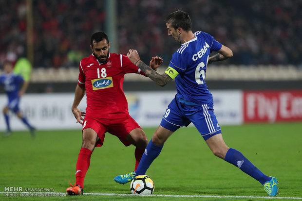Persepolis, Nasaf Qarshi match in frames