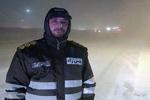 بارش برف در محورهای فیروزکوه و هراز