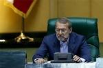 علی لاریجانی در صحن مجلس