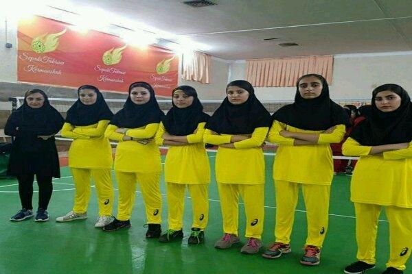 نخستین دوره مسابقات سپک تاکرا بانوان جام فجر در کرمانشاه برگزارشد