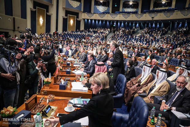 Iraq reconstruction conference held in Kuwait