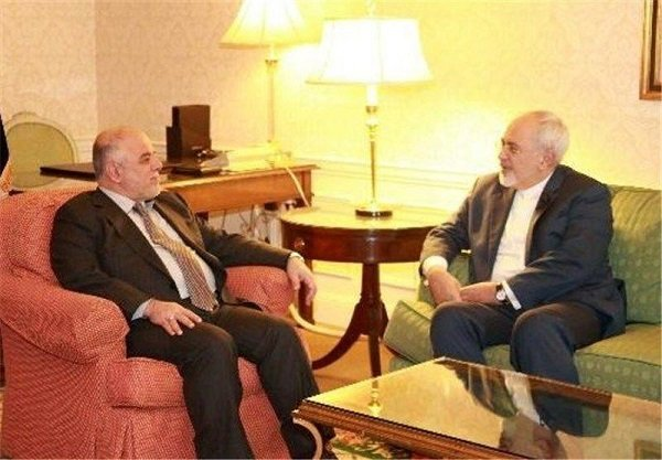 Zarif, al-Abadi call for expansion of Iran-Iraq ties