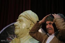مراسم تقدیر از استاد عثمان هورامی در سنندج