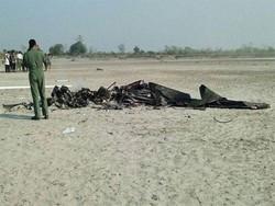 بھارتی ایئر فورس کا طیارہ گر کر تباہ ہوگیا/ پائلٹ ہلاک