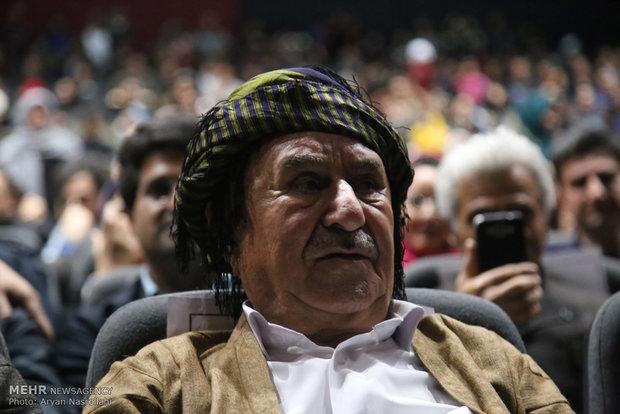 İranlı Kürt müziği ustası için onur töreni
