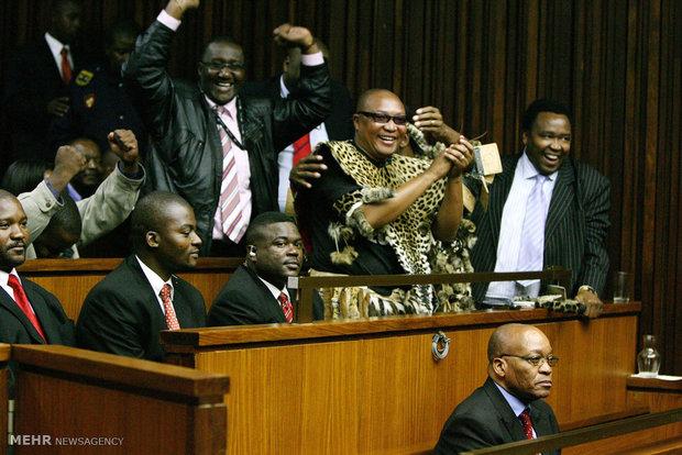 کناره گیری رئیس جمهوری آفریقای جنوبی از قدرت