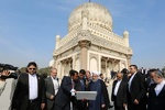 Rouhani visits historical sites in Hyderabad
