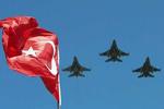 سقوط یک فروند جنگنده ترکیه