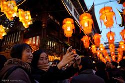 Çin'deki yeni yıl kutlamalarından kareler