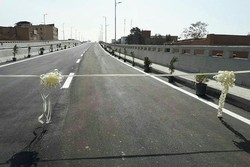 پل باغملی شهر کرمان به بهره برداری رسید